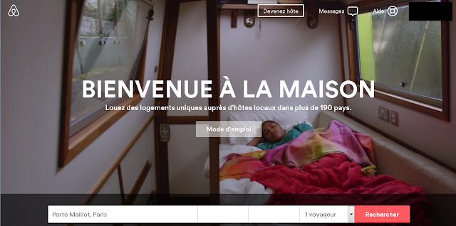 Voyage communautaire louer un airbnb