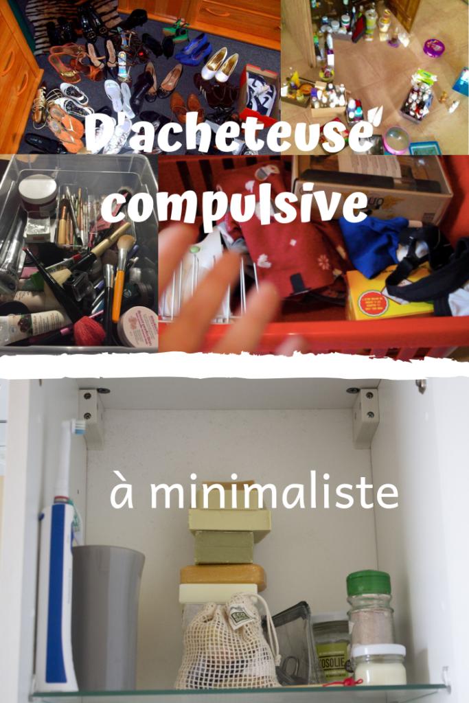 d'acheteuse compulsive à minimaliste