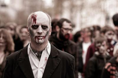 déguisement de zombie facile sans matériel