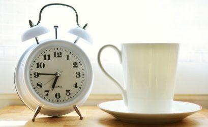 prendre le temps de boire son café
